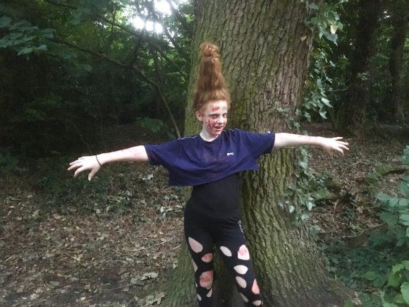 Daughter - Thriller Costume