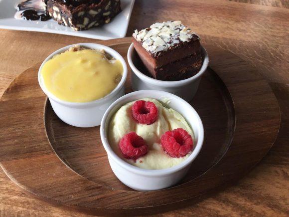 3 Mini Puddings - Cookhouse and Pub