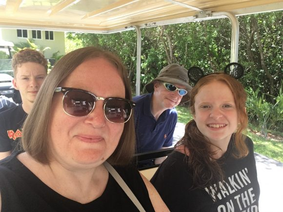 Golf Buggy Ride