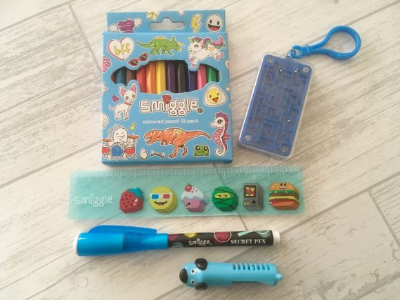 Smiggle contents
