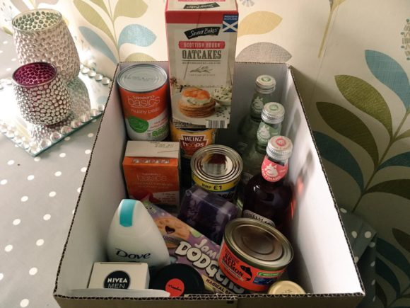 Creating a Food Bank Box