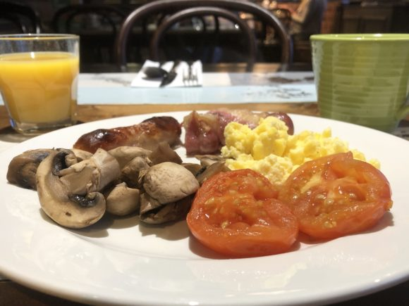 Breakfast at The Village Hotel