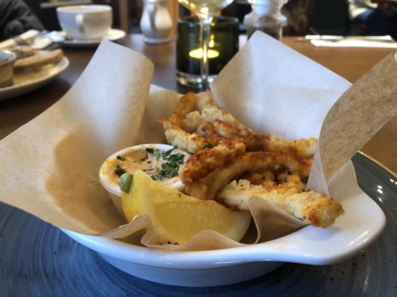 Calamari at The Stretton Fox