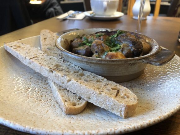 Mushroom starter at The Stretton Fox