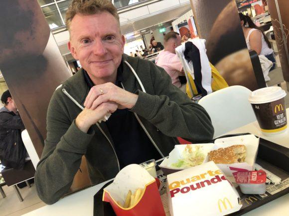 Schipol Airport - McDonalds