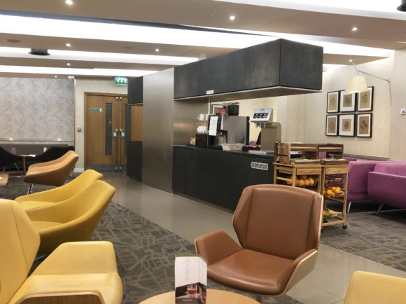Escape Lounge at T1 Manchester Airport