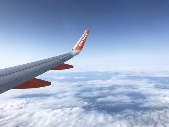 easyJet flight to Amsterdam