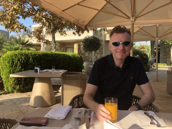 Breakfast at Sani Asterias