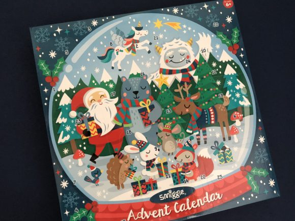 Smiggle Advent Calendar 2019 Contents