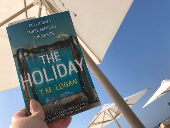 The Holiday by TM Logan - Greek sun