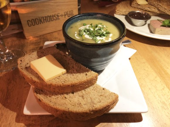 Soup on the Festive Menu - Cookhouse and Pub